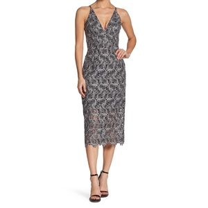Dress The Population Aurora Lace Dress XS NEW $242